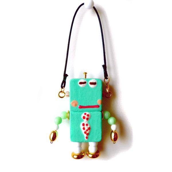 アキンド17■ロボット■バッグチャーム