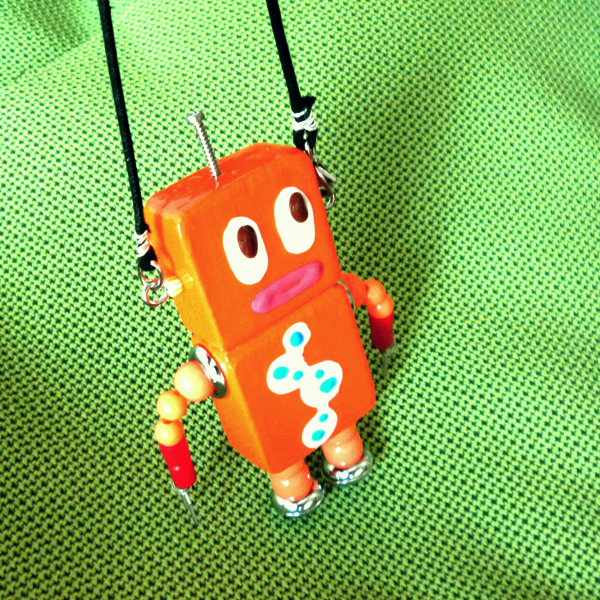 アキンド37■ロボット■バッグチャーム