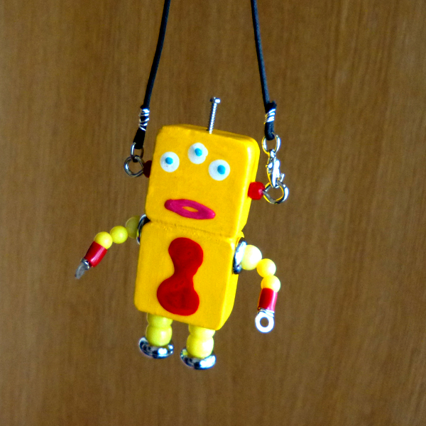 アキンド30■ロボット■バッグチャーム