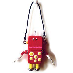 アキンド46■ロボット■バッグチャーム