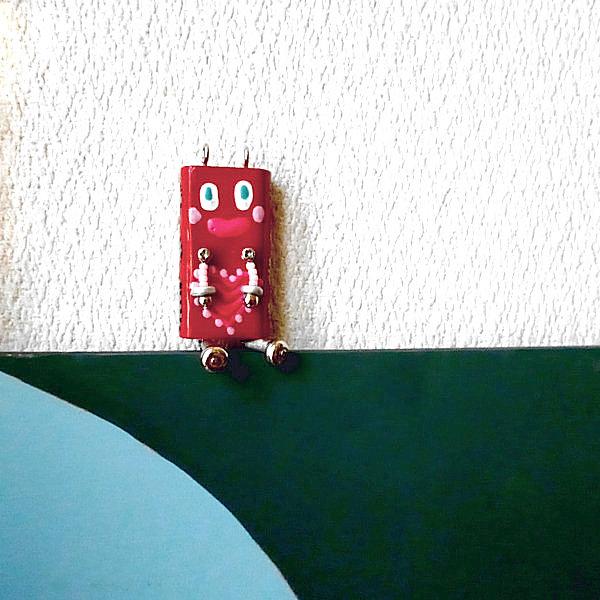 ピロピン8■ロボット■キーホルダー