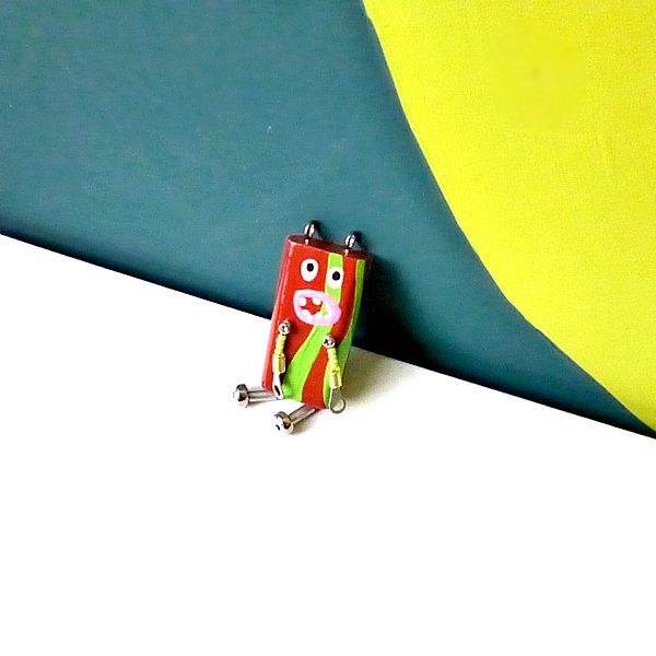 ピロピン18■ロボット■キーホルダー