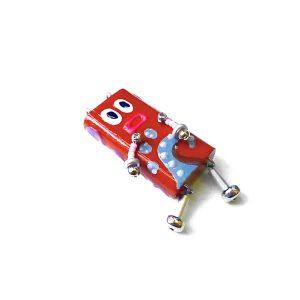 ピロピン22■ロボット■キーホルダー