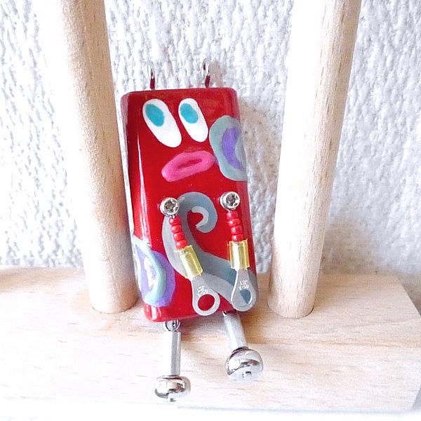 ピロピン32■ロボット■キーホルダー