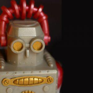 バーガーキング・ウォーキングロボット