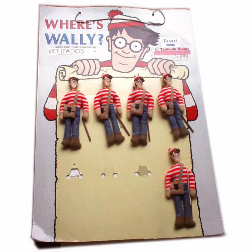 ウォーリーを探せ・マスコット