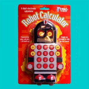 ロボット電卓 Robot Calculator