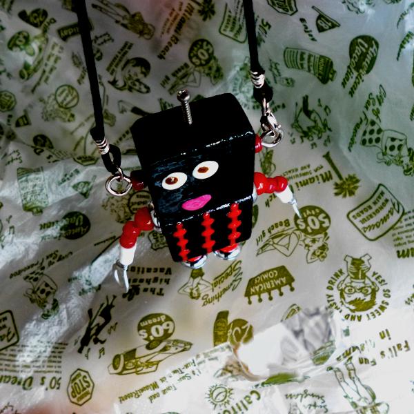 アキンド22■ロボット■バッグチャーム