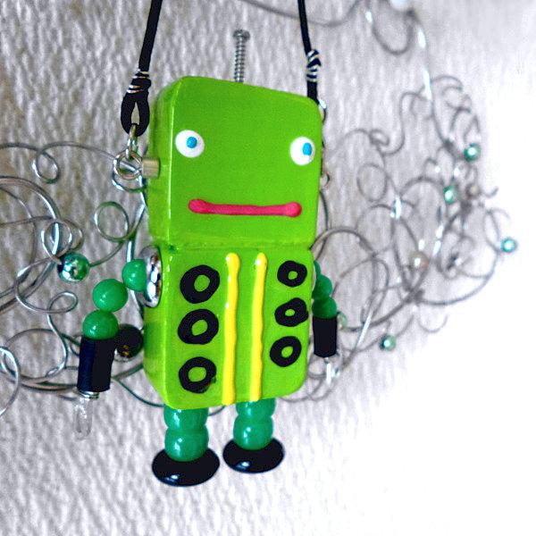 アキンド23■ロボット■バッグチャーム
