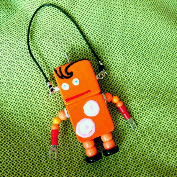 アキンド24■ロボット■バッグチャーム