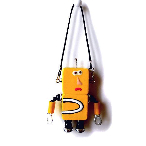 アキンド34■ロボット■バッグチャーム
