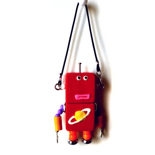 アキンド32■ロボット■バッグチャーム