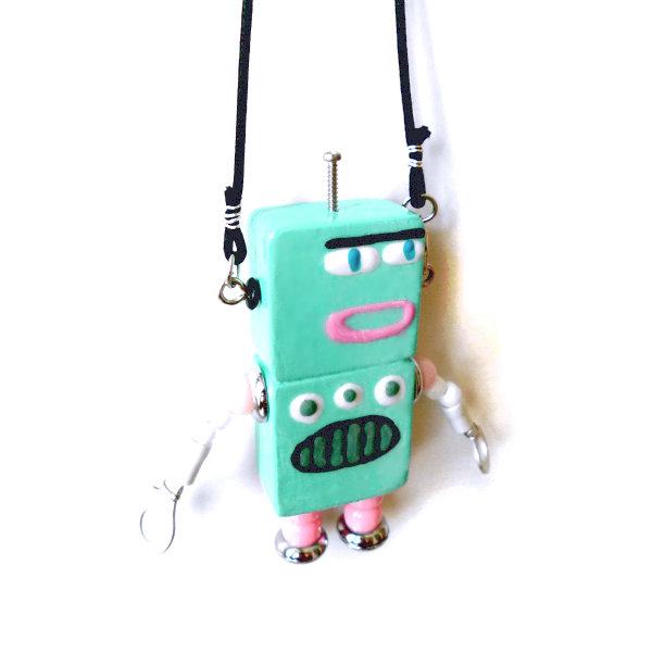 アキンド33■ロボット■バッグチャーム