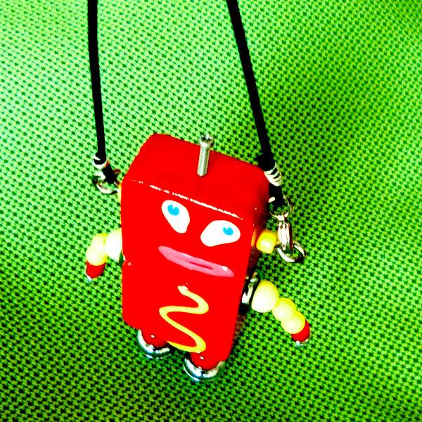 アキンド35■ロボット■バッグチャーム