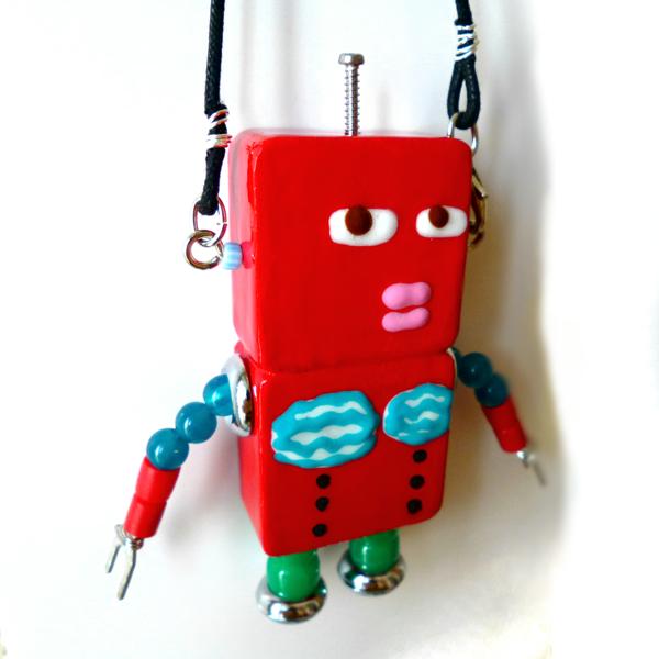 アキンド40■ロボット■バッグチャーム