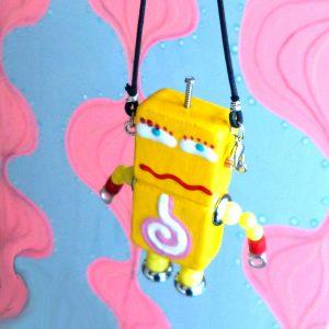 アキンド42■ロボット■バッグチャーム