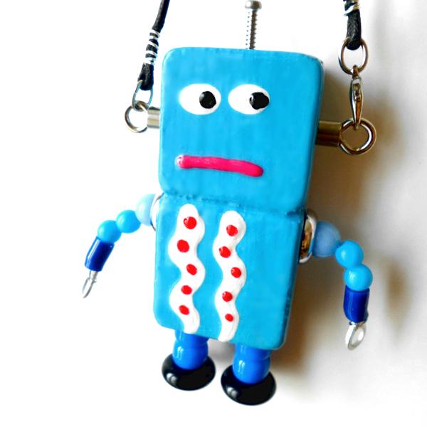 アキンド28■ロボット■バッグチャーム
