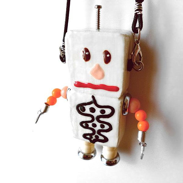 アキンド27■ロボット■バッグチャーム