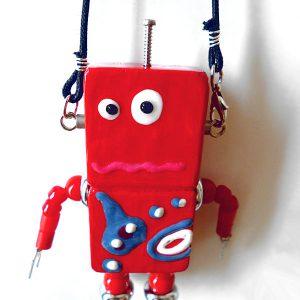 アキンド21■ロボット■バッグチャーム