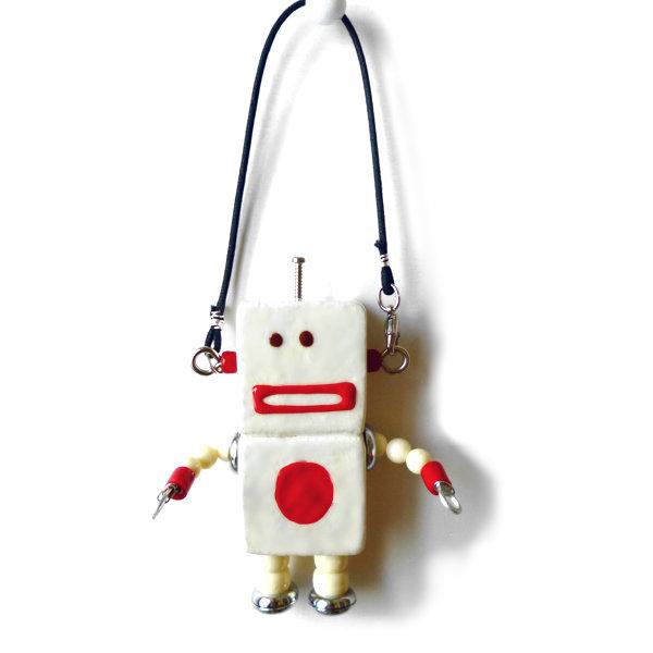 アキンド39■ロボット■バッグチャーム