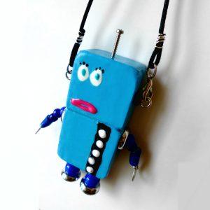 アキンド31■ロボット■バッグチャーム