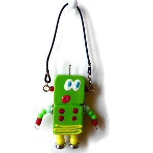 アキンド41■ロボット■バッグチャーム