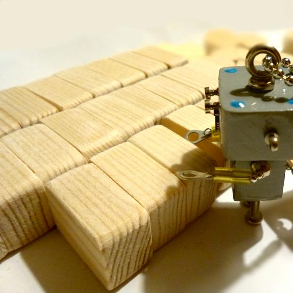 ちびロボ7◆ロボット◆キーホルダー