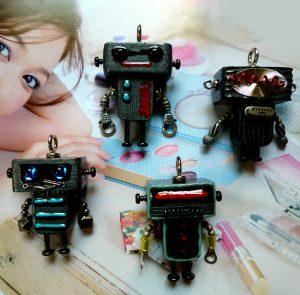 ちびロボ13■ロボット■キーホルダー