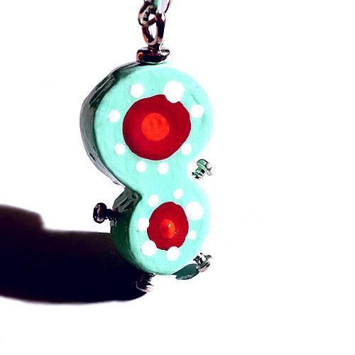 ナスボン84 細胞分裂くん◆キーホルダー