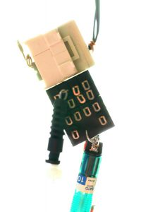 ジャンク-NTT-A◆ロボット◆オヴジェ