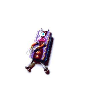 ピロピン5■ロボット■キーホルダー