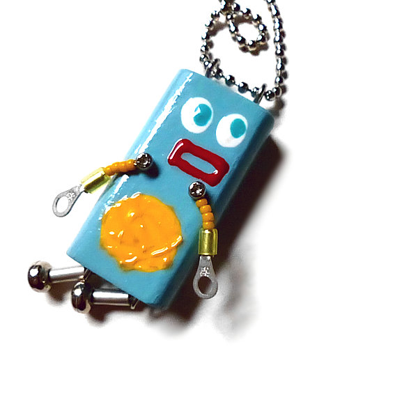 ピロピン7■ロボット■キーホルダー