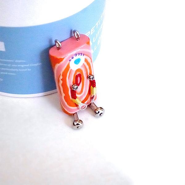 ピロピン14■ロボット■キーホルダー