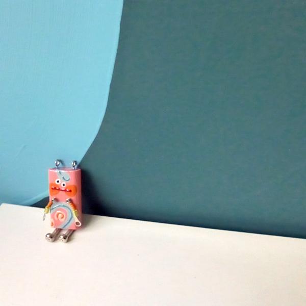 ピロピン19■ロボット■キーホルダー