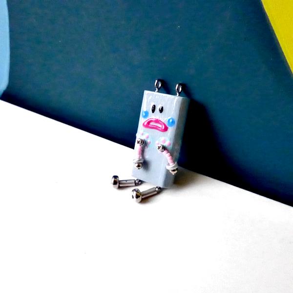 ピロピン21■ロボット■キーホルダー