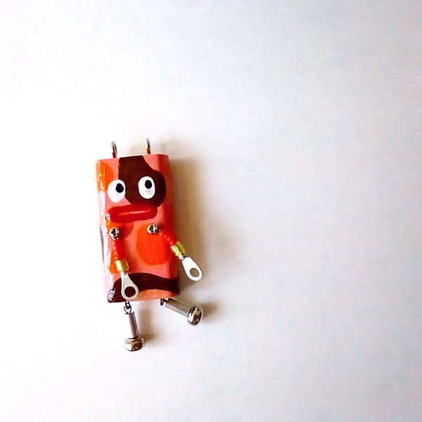 ピロピン28■ロボット■キーホルダー