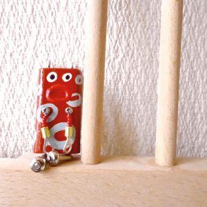 ピロピン30■ロボット■キーホルダー