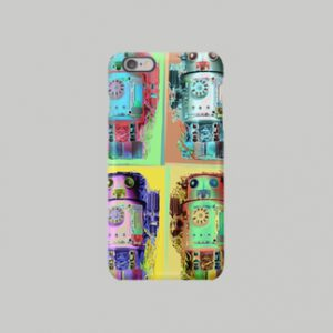 ロボット4◆スマートフォンケース◆ 受注生産品